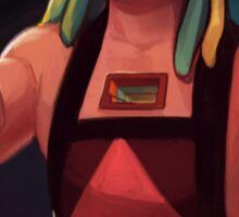SU - she means Bismuth Sticker