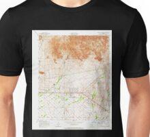 USGS TOPO Map Arizona AZ Apache Junction 310284 1956 24000 Unisex T-Shirt