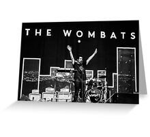 The Wombats Greeting Card