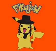 Pikachu - Pikajew , Pokemon Kids Clothes