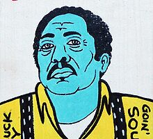 R.L. Burnside Blues Folk Art by krusefolkart