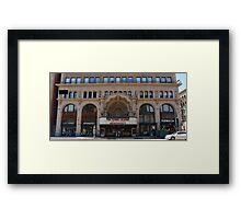Location? Framed Print