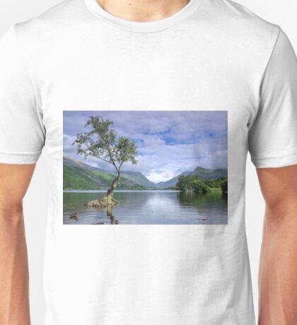 LLyn Padarn, Llanberis Unisex T-Shirt