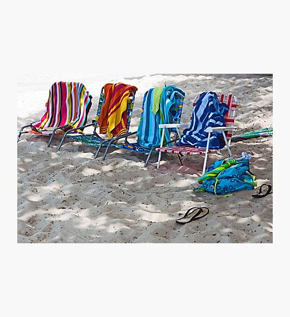 It's Beach Day  Photographic Print