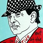 Bear Bryant Alabama Football Folk Art by krusefolkart