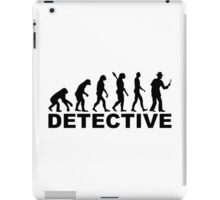 Evolution detective iPad Case/Skin