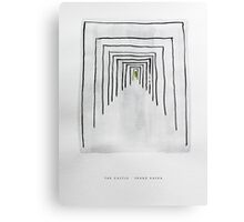 Classic Literature Cover: The Castle - Franz Kafka Canvas Print