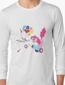 Pinkie Pie Cannon! Long Sleeve T-Shirt