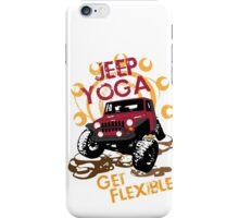 Jeep Yoga T-Shirt iPhone Case/Skin