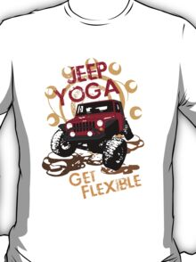 Jeep Yoga T-Shirt T-Shirt