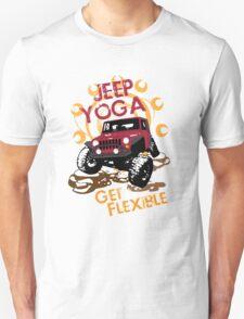 Jeep Yoga T-Shirt T-Shirt