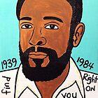 Marvin Gaye Soul Folk Art by krusefolkart