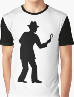 Detective Graphic T-Shirt