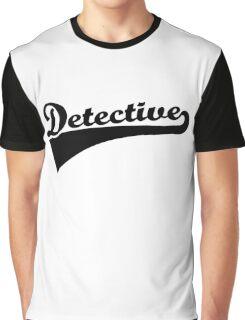 Detective Graphic T-Shirt