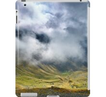Mountains and clouds landscape iPad Case/Skin
