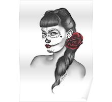 Valentina (Day of the Dead) Poster
