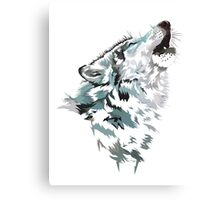 Shattered Wolf: Arouh Canvas Print