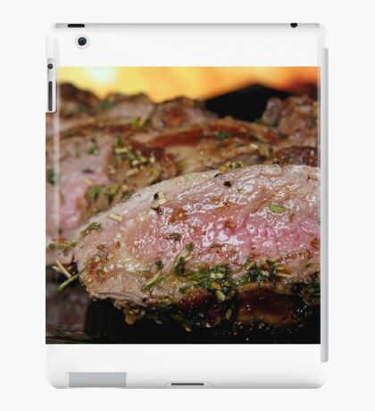 Cooked meat iPad Case/Skin