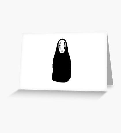 No-Face <3 (spirited away) Greeting Card