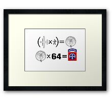 The Solution: 82nd Framed Print