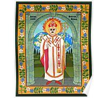 Icon of Pope John XXIII Poster