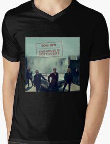 Bon Jovi 2016 New Album This House is Not for Sale Mens V-Neck T-Shirt