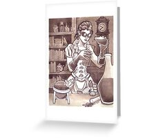 The Alchemist Greeting Card