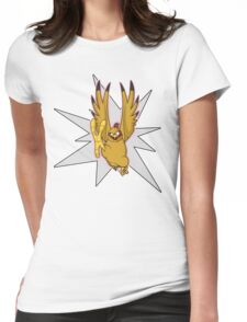 UniquePublications: MISS CHICKEN Womens Fitted T-Shirt