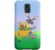 Easter Bunny with Egg Basket Samsung Galaxy Case/Skin