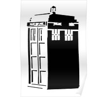 The Tardis, Police Box (Doctor Who) Poster