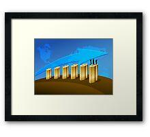 Business Success Chart 1 Framed Print