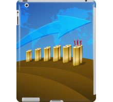 Business Success Chart 1 iPad Case/Skin