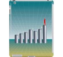 Business Success Chart 1 iPad Case/Skin