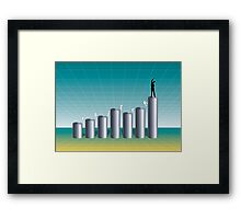 Business Success Chart 1 Framed Print