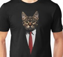 The Jacket Cat Unisex T-Shirt
