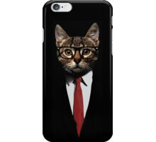 The Jacket Cat iPhone Case/Skin
