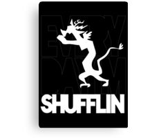 Discord Shuffilin' Canvas Print