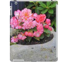 Peach Begonia iPad Case/Skin