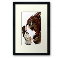 Friend? Framed Print