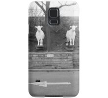 Stay off hill and cows Samsung Galaxy Case/Skin