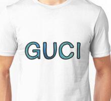 GUCI blue watercolor Unisex T-Shirt