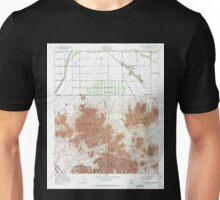 USGS TOPO Map Arizona AZ Chandler Heights 310814 1956 24000 Unisex T-Shirt