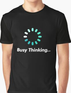 Loading bar circle - busy thinking Graphic T-Shirt
