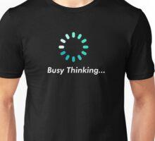 Loading bar circle - busy thinking Unisex T-Shirt