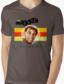 Desmond Dekker Is A Rude Boy Ska Mens V-Neck T-Shirt