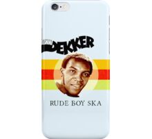 Desmond Dekker Is A Rude Boy Ska iPhone Case/Skin
