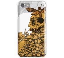 Death Head Skull iPhone Case/Skin