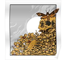 Death Head Skull Poster