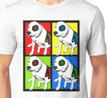 Colorful Pop Art Pit Bull Unisex T-Shirt