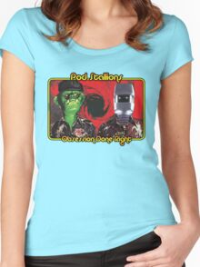 Pod Stallions Logo Women's Fitted Scoop T-Shirt